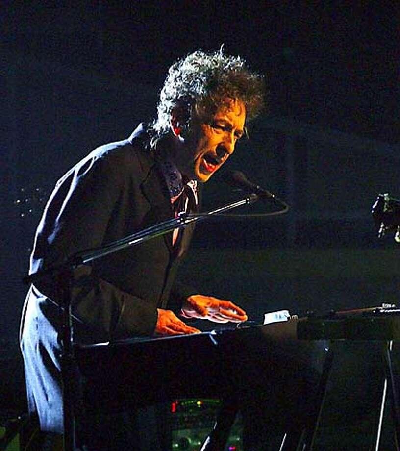 Bob Dylan. Associated Press file photo, 2004, by Dean Cox