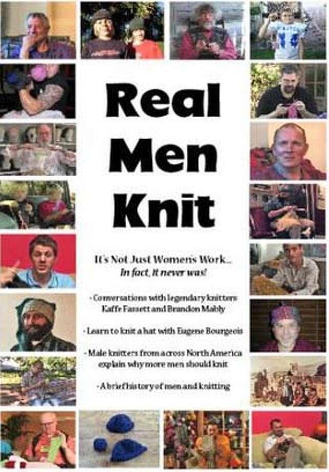 """Real Men Knit"""