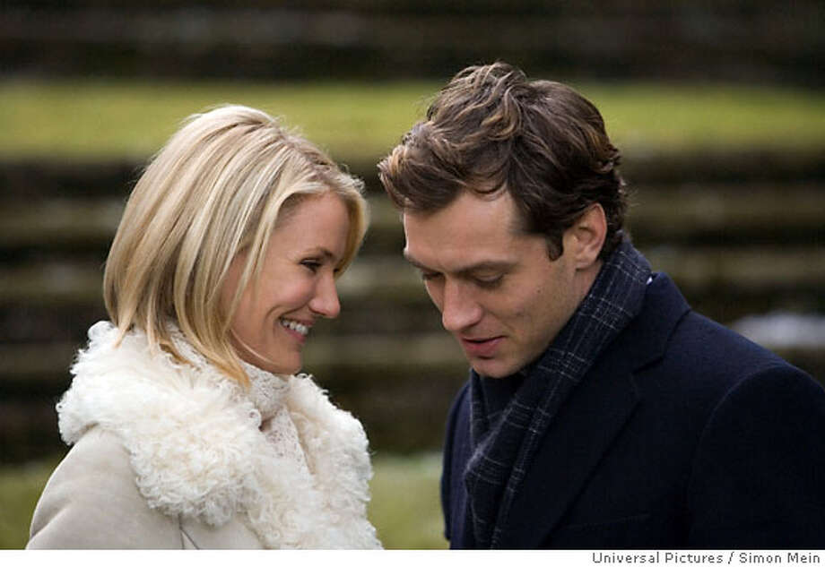 Cameron Diaz and Jude Law star in the 2006 rom-com 'The Holiday.' This movie shows us that our dream guy might not even live on the same continent as us. Then again, maybe we should skip this one... Photo: Simon Mein