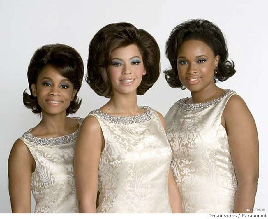 """""""Dreamgirls,"""" featuring from left, Anika Noni Rose, Beyonc� Knowles and Jennifer Hudson, opens Dec. 15 in limited release, including at the Metreon 15 in San Francisco. Photo courtesy of DreamWorks/Paramount"""