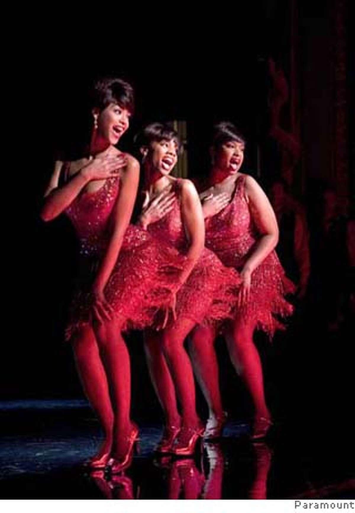 "Anika Noni Rose, Beyonce Knowles and Jennifer Hudson in ""Dreamgirls"" 2006 Ran on: 12-10-2006"