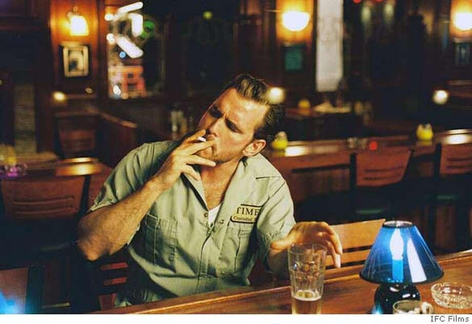 Matt Dillon (�Hank�) in a scene from FACTOTUM directed by Bent Hamer. An IFC Films release. Photo: An IFC Films Release.