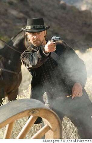 Russell Crowe stars as Ben Wade in 3:10 TO YUMA, directed by James Mangold. Photo credit: Richard Foreman / Lionsgate  Lionsgate / Richard Foreman Photo: Richard Foreman SMPSP