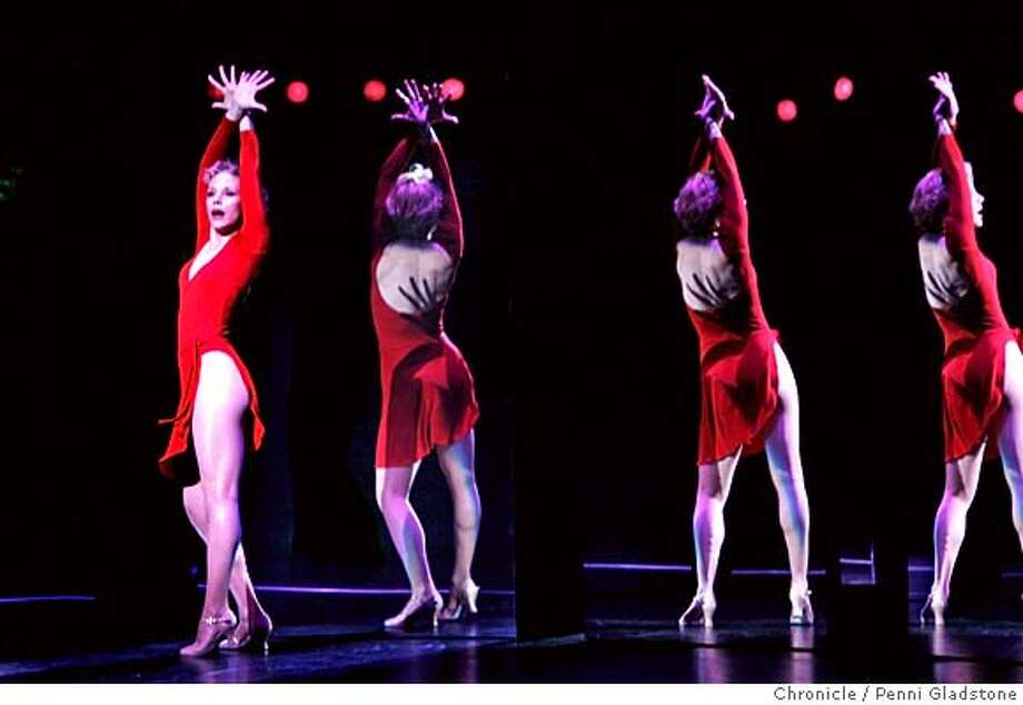 """CHORUS04  Charlotte d' Amboise performs on stage in the  preview performance of """"A Chorus Line"""" at Curran Theatre. .Event on 8/1/06 in San Francisco.  Penni Gladstone / The Chronicle MANDATORY CREDIT FOR PHOTOG AND SF CHRONICLE/ -MAGS OUT Photo: Penni Gladstone"""