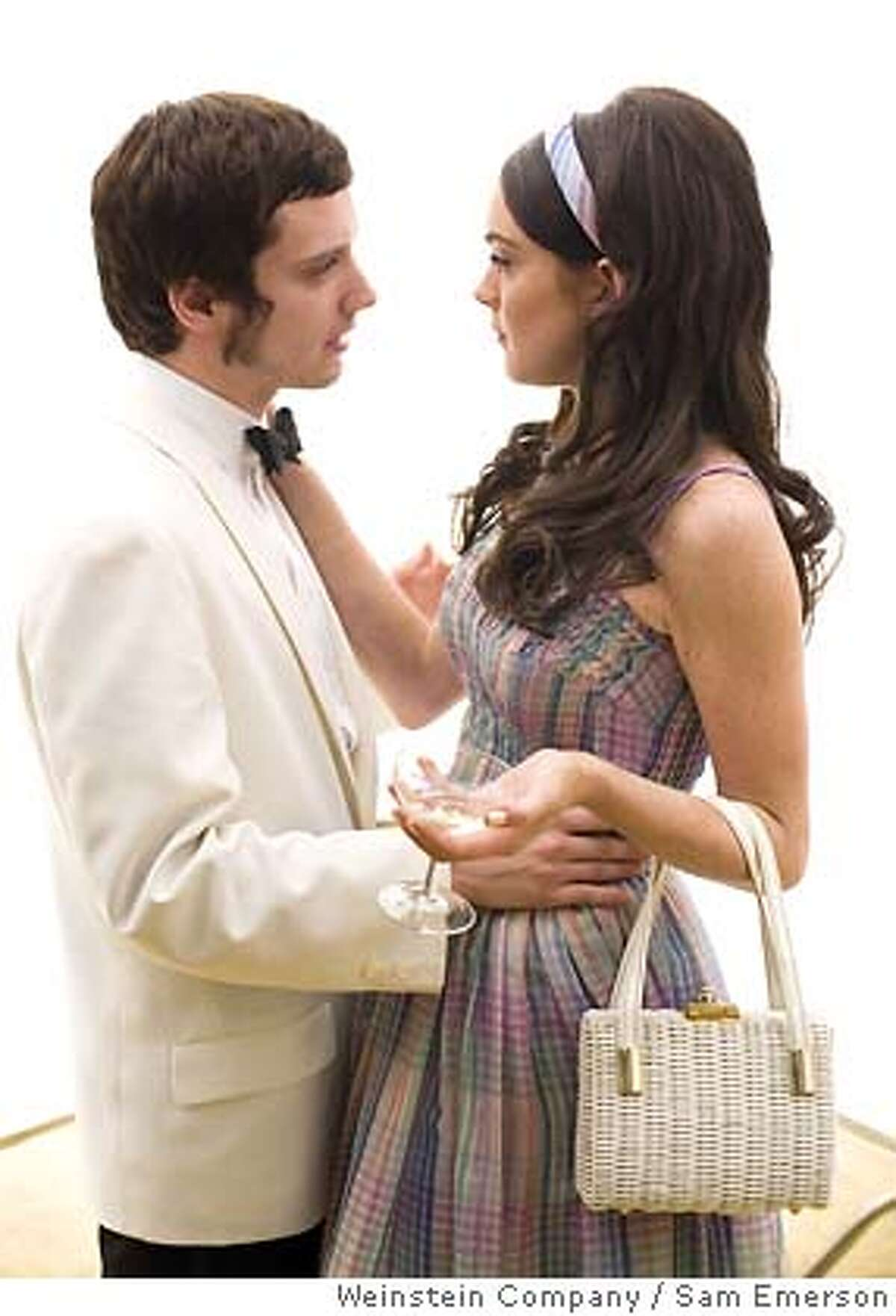 Photo Caption: Elijah Wood and Lindsay Lohan star in Emilio Estevez's BOBBY. Photo by: �The Weinstein Company, 2006/Sam Emerson Ran on: 11-23-2006 Fateful day: Heather Graham, Martin Sheen and Helen Hunt, above, and Elijah Wood and Lindsay Lohan, below, play characters whose stories intersect on June 4, 1968, the day Robert F. Kennedy was assassinated.