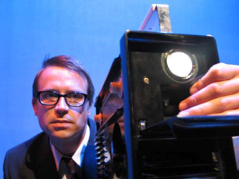 The actor is John Andrew Stillions playing The Censor David Holl Photo: David Holl