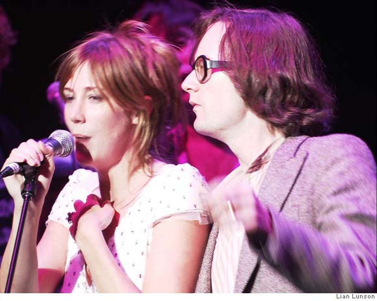 Singers Beth Orton and Jarvis Cocker at