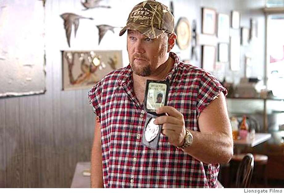 Scene from Larry The Cable Guy Health Inspector in this undated publicity photograph Photo: HO
