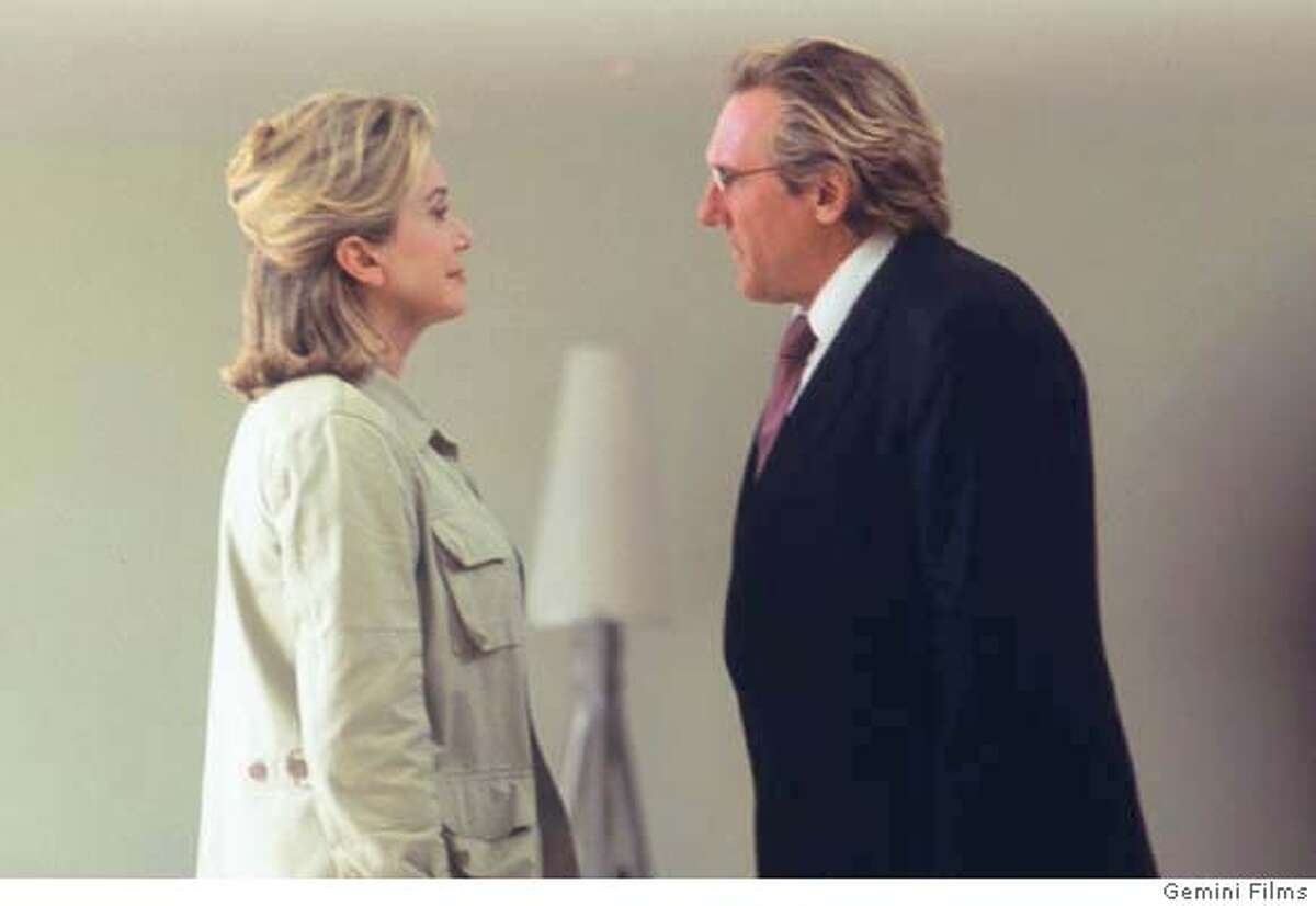 Catherine Deneuve and Gerard Depardieu in Changing Times. CR: Gemini Films