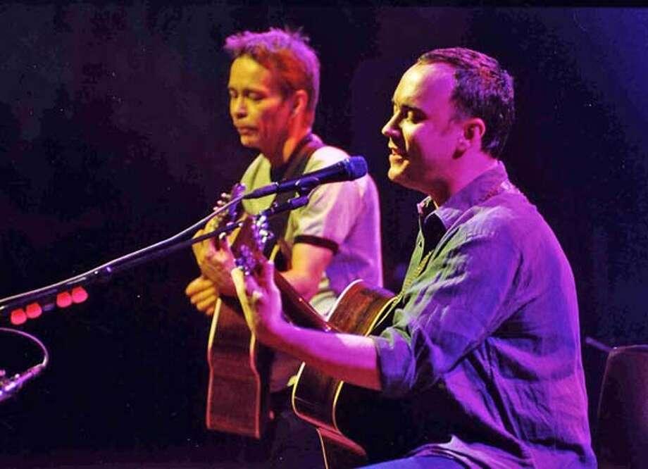 "Tim Reynolds and Dave Matthews ""Live at Radio City Music Hall"" Photo: Red Light Management"