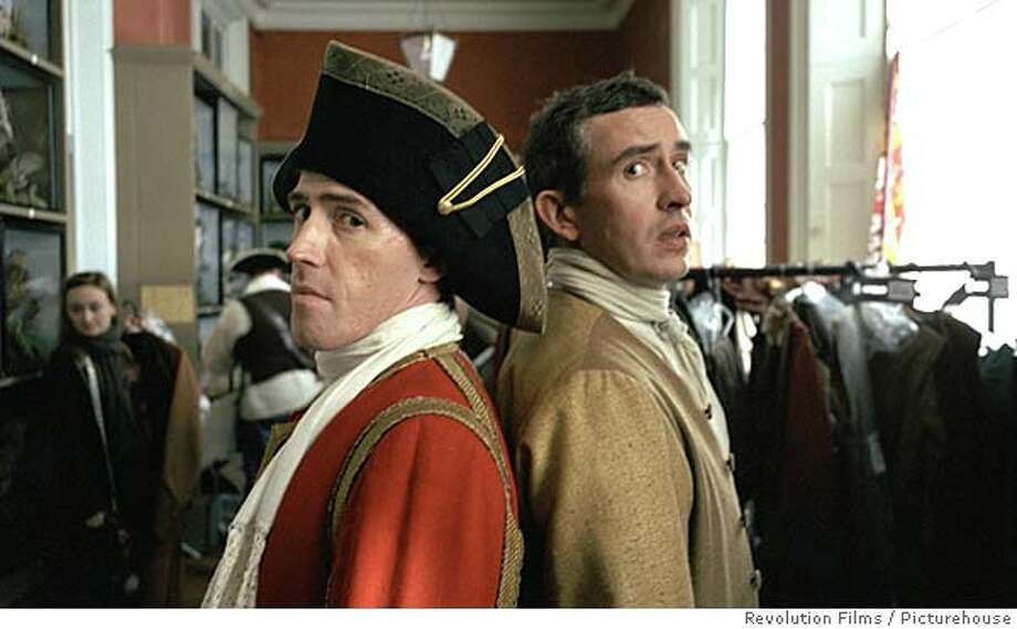 Rob Brydon & Steve Coogan in Tristram Shandy: A Cock & Bull Story. Photo credit: Revolution Films/Picturehouse. Photo: X