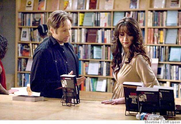 David Duchovny as Hank and Madeline Zima as Mia - Photo: Cliff Lipson/Showtime - Photo ID: californication_p_0923 Photo: Ho
