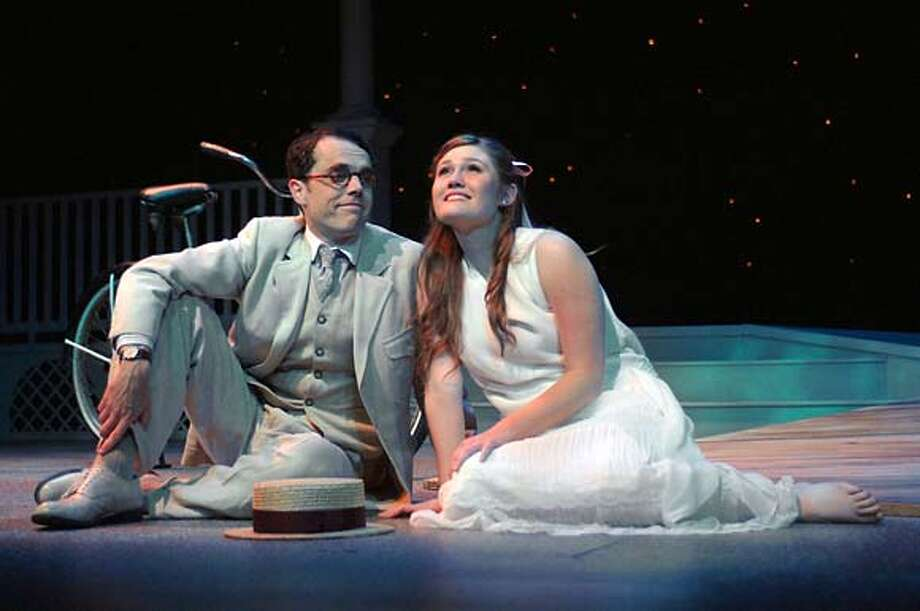 WILDER 4 - Theophilus (Mark Anderson Phillips) and Eloise (Kristin Stokes) look at the North Star Photo: Handout