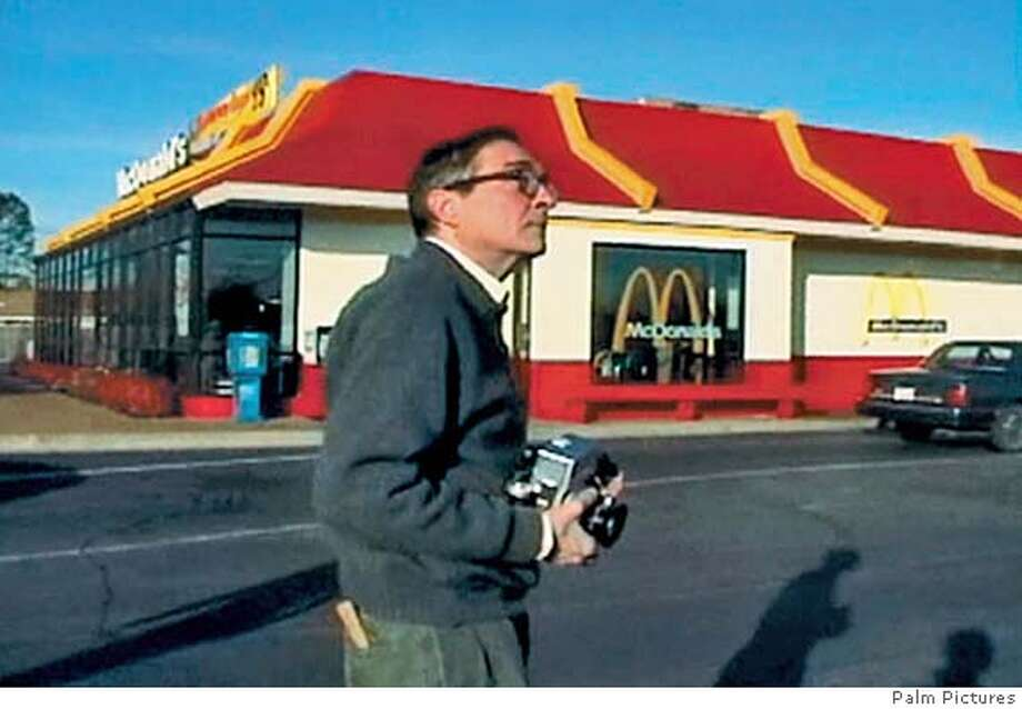 Photographer William Eggleston, as seen in Michael Almereyda's film WILLIAM EGGLESTON IN THE REAL WORLD. Photo: Palm Pictures. Photo: Photo: Palm Pictures.