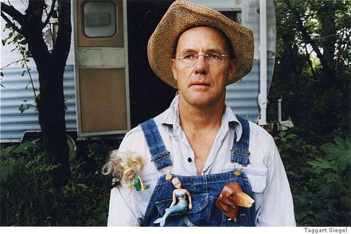 FARMERJOHN27 Farmer John wears pins in the documentary The Real Dirt on Farmer John.