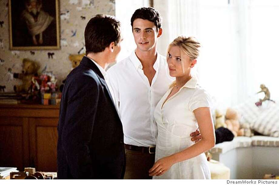 MATCH06 Jonathan Rhys-Meyers, Matthew Goode and Scarlett Johansson in DreamWorks Pictures' Match Point - 2005 Photo: Dreamworks Pictures