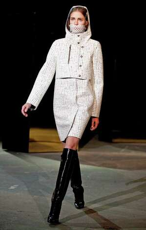Alexander Wang fall 2012 collection is modeled during Fashion Week, Saturday, Feb. 11, 2012 in New York. (AP Photo/Stephen Chernin) Photo: Stephen Chernin, FRE / FR76594 AP