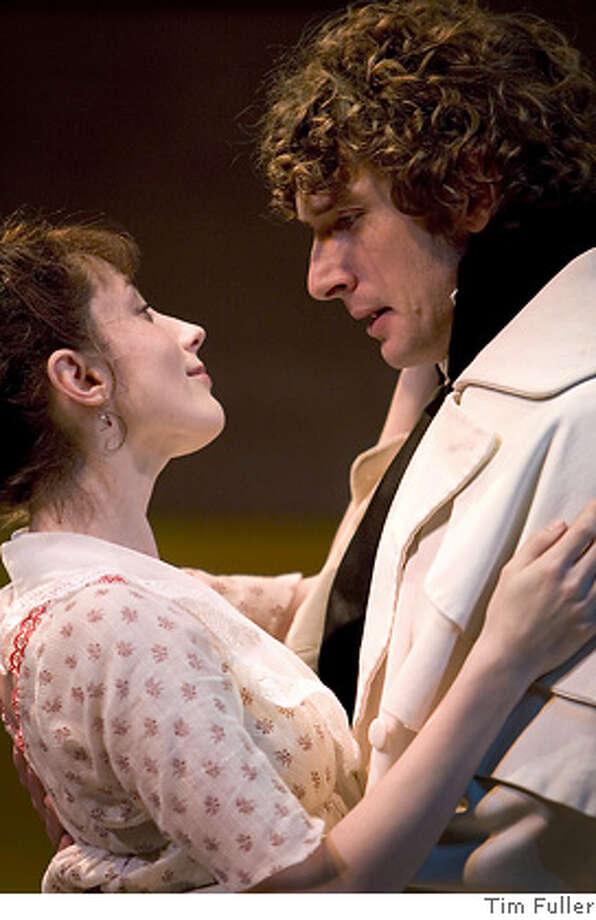 PRIDE06_01.JPG Julia Dion and Anthony Marble are Elizabeth Bennet and Mr. Darcy in San Jose Rep1s Pride and Prejudice Nov. 26 ? Dec. 30. � Photo: Tim Fuller. Photo: Tim Fuller
