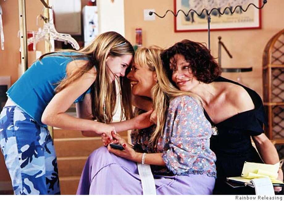 "Henry Jaglom's ""Going Shopping."" Mae Whitman, left, ???? center, and Victoria Foyt Photo: Rainbow Releasing"
