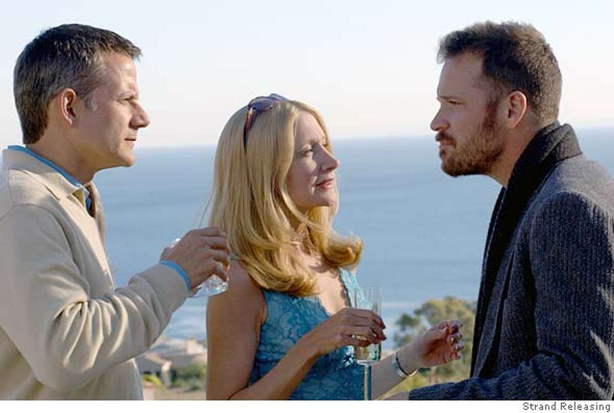 GAUL18 Campbell Scott, Patricia Clarkson, and Peter Sarsgaard in Craig Lucas' THE DYING GAUL from Strand Releasing.