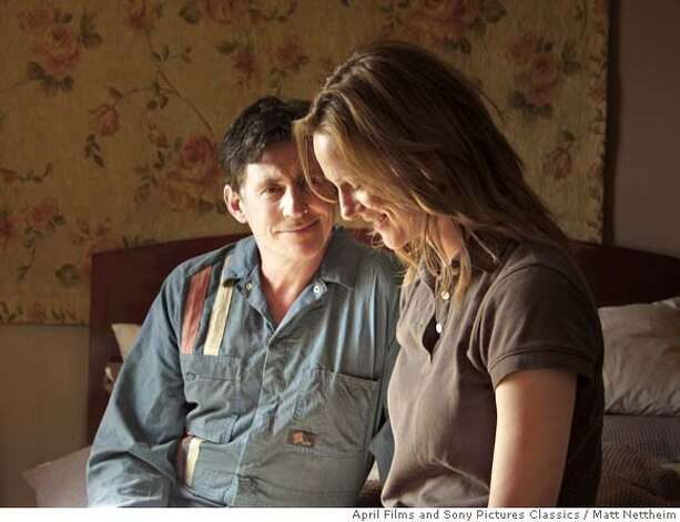 "(l) Gabriel Byrne as Stewart Kane and (r) Laura Linney as Claire Kane in April Films/Sony Pictures Classics ""Jindabyne.""  Photo credit: Matt Nettheim Photo: Matt Nettheim"