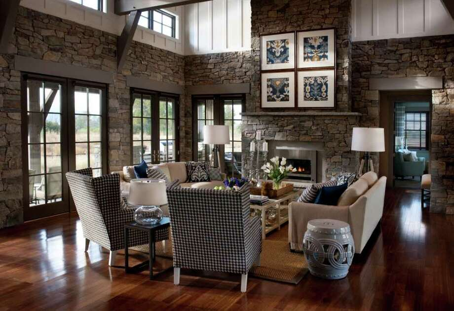 Here's a look at one of the beautiful rooms in the 2012 HGTV Dream Home. Photo: Contributed Photo / The News-Times Contributed