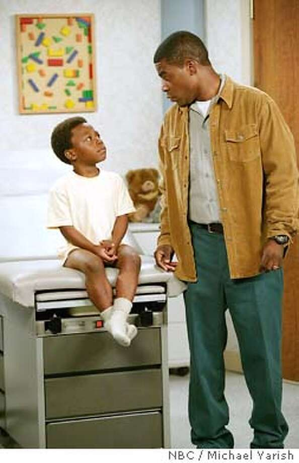 """** ADVANCE FOR WEEKEND, NOV 29-30 ** Bobb'e J. Thompson as Jimmy Mitchell, left, and Tracy Morgan as Tracy Mitchell appear in this scene from NBC's """"The Tracey Morgan Show,"""" in this undated publicity photo. The new sitcom premieres at 8 p.m. EST Tuesday, Dec. 2, 2003. (AP Photo/NBC / Michael Yarish) David Paymer was miscast as a mobster in &quo;Line of Fire.&quo; Photo: MICHAEL YARISH"""