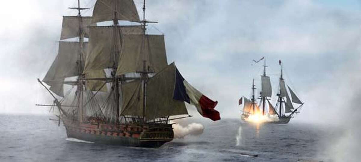 SCENE FROM MASTER AND COMMANDER THE FAR SIDE OF THE WORLD