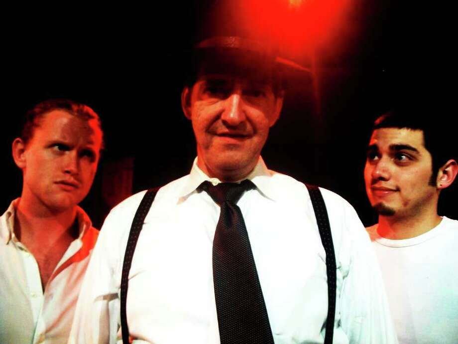 The Loman men are played by (from left) Jon Smith, Barry Goettl and Rocky Bronco.