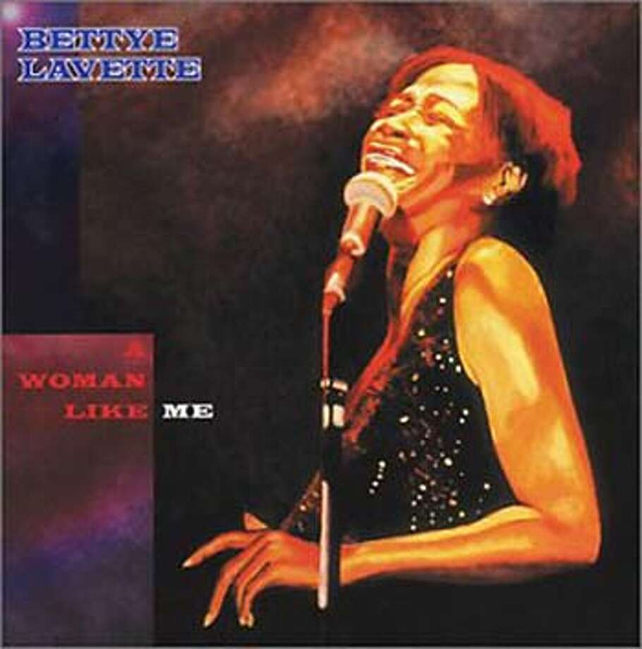 "ALBUM COVER FOR POP CD SECTION. BETTYE LAVETTE, ""WOMAN LIKIE ME"""