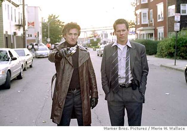 "Sean Penn and Kevin Bacon star in Warner Bros. Pictures drama ""Mystic River."" ( Warner Bros. Pictures / Merie W. Wallace) Photo: MERIE W. WALLACE"