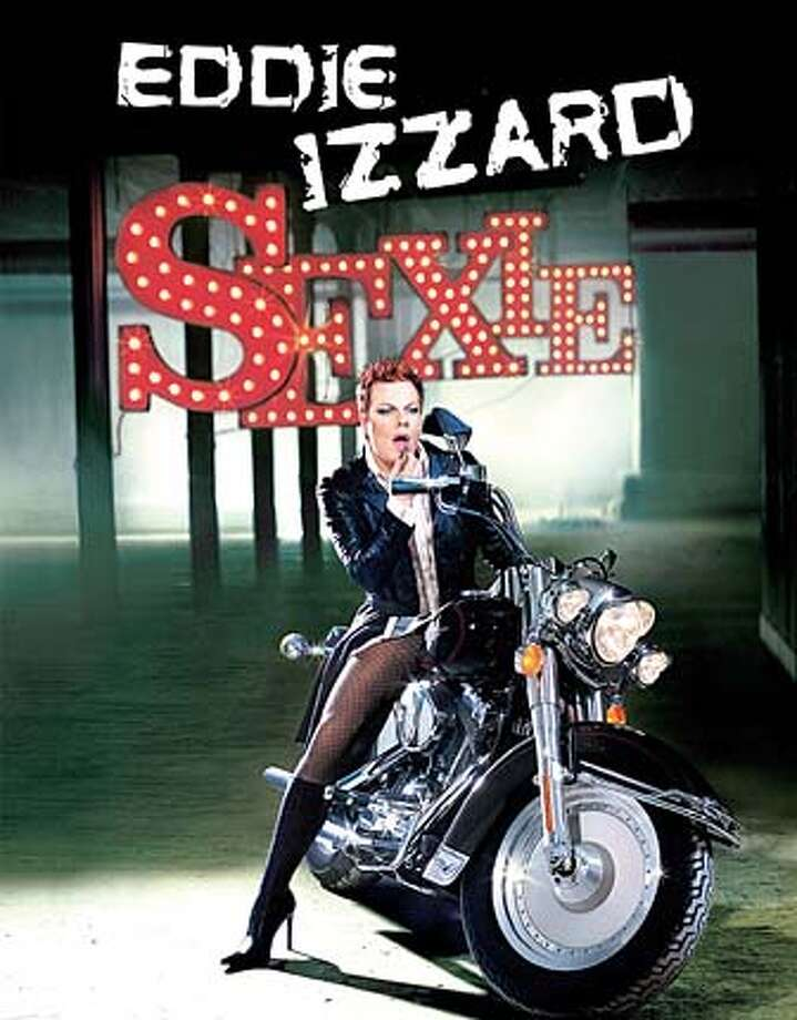 "For IZZARD11, datebook ; Eddie Izzard in ""Sexie"" ; Photo credit: Len Prince ; on 5/16/03 in . Len Prince / HO Photo: Len Prince"