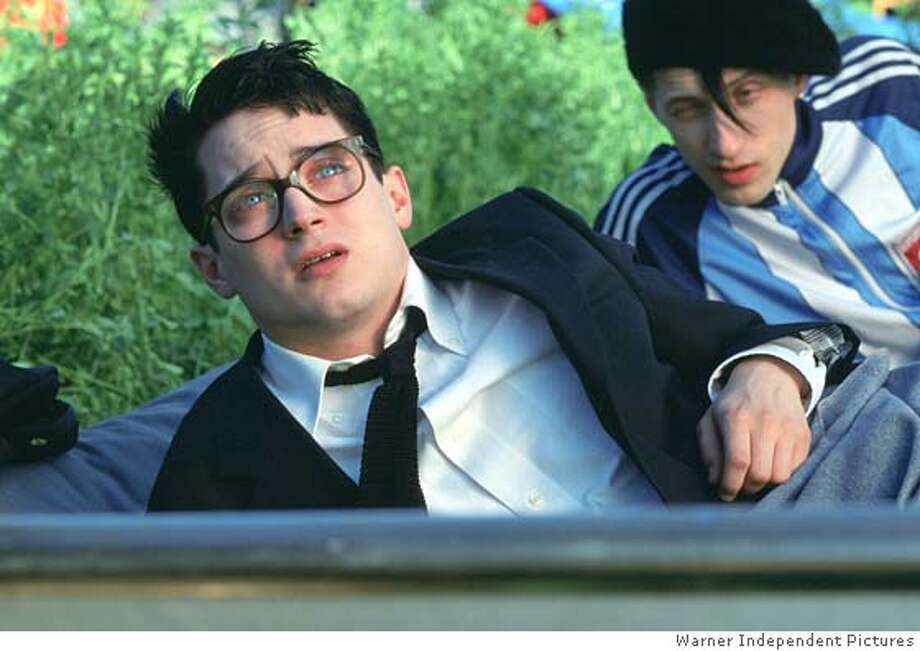 EVERYTHING23 Elijah Wood is Jonathan and Eugene Hutz is Alex in director Liev Schreiber's EVERYTHING IS ILLUMINATED, a release. Photo: Warner Independent Pictures
