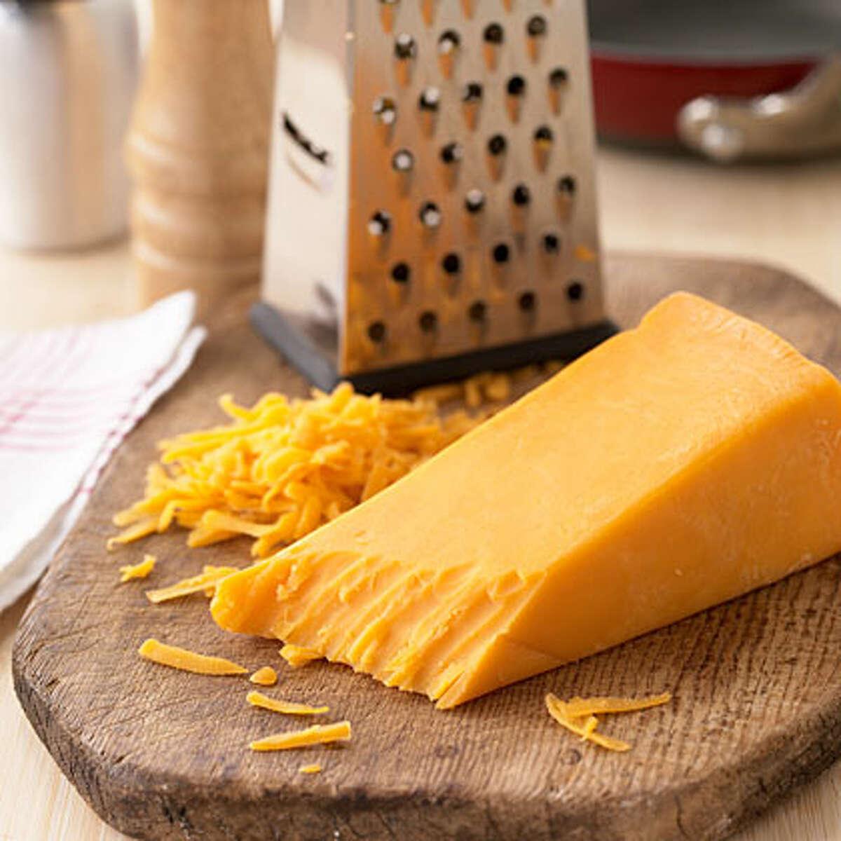 cheddar cheese (http://www.myrecipes.com)