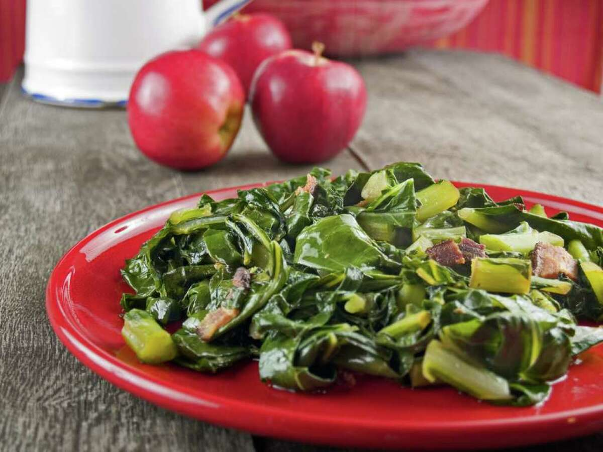 One cup of cooked collard greens has the same amount of calcium as one cup of cow's milk.