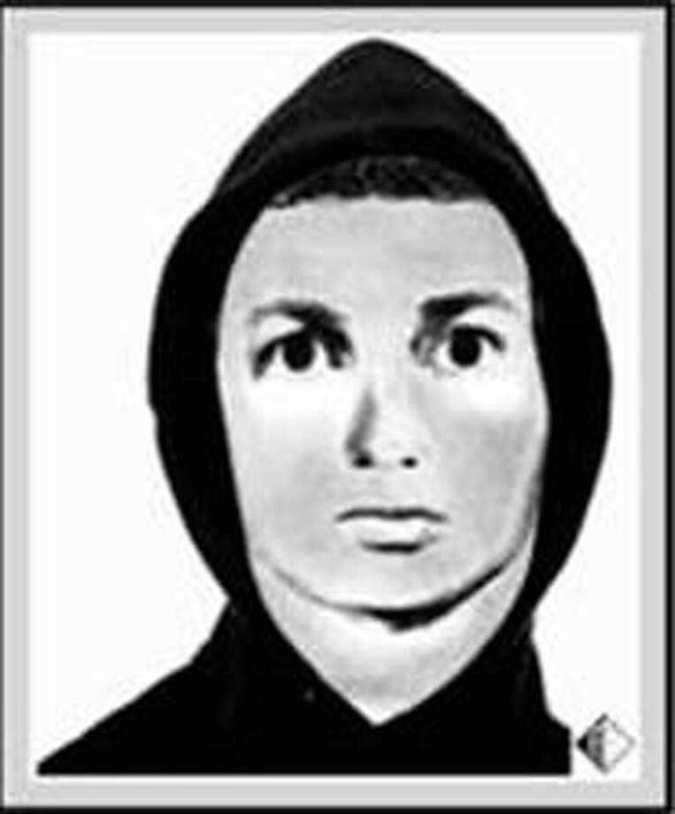 New Canaan Police have released this sketch of the suspect in the attempted robbery in New Canaan last week. Photo: Contributed Photo