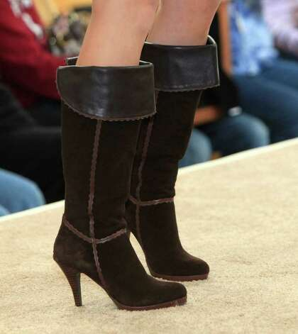 Fashion by Reba McEntire on the runway at Ropin' with Reba, in front of Dillard's North Star Mall, Saturday, February 11, 2012. Photo: J. Michael Short , J. MICHAEL SHORT / THE SAN ANTONIO EXPRESS-NEWS