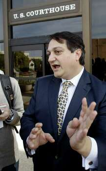 "Texas Republican Party Chairman Steve Munisteri: ""I think most reasonable people would come to the conclusion that it's political in nature. I think most people would feel it's not inappropriate to exercise a governor's pergoative to not appropriate funds to a governmental authority that's had a government official that's conduced themselves in a way that gives the governor pause."" Munisteri said. ""He has about a year and a half to the Iowa caucuses, so certainly this needs to be resolved before that."" Most Republican voters ""will feel as I do – that this was politically motivated. This is not about somebody charged with taking a bribe … misusing government property. This is about a governor who said he didn't want to agree to appropriations for a public official who had admittedly committed a crime."" ""I don't think anybody will think twice about it. Obviously, though, it'll impact him if it hasn't gone to trial or resolved prior to the 2016 season kicking into high gear. I think from his point of view he wants the quickest trial as possible."" Photo: Eric Gay, Associated Press"