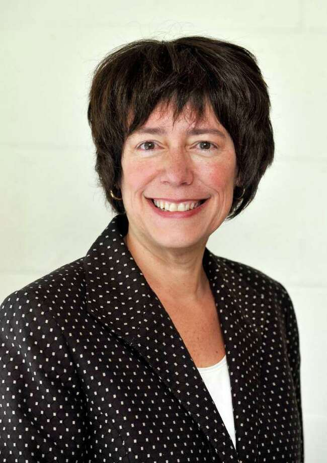Deborah Low is Ridgefield Superintendent of Schools Photo: Michael Duffy, ST / The News-Times