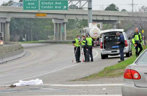 27-year-old woman hit by tanker truck dies in hospital