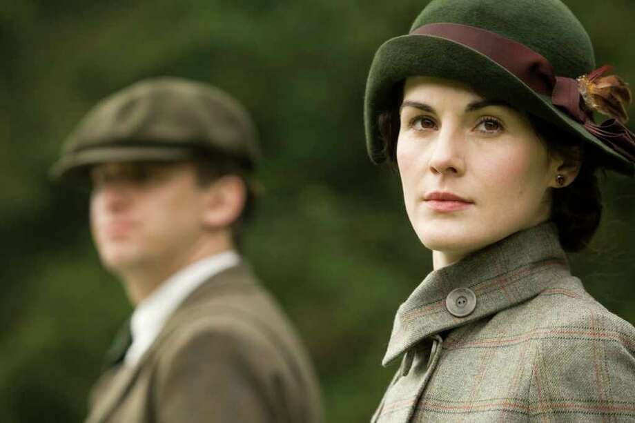 "Best performance by an actress in a television series, drama nominee:Michelle Dockery, ""Downton Abbey"""