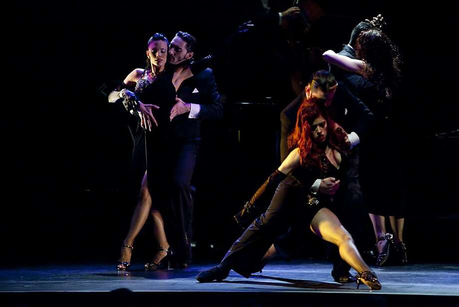 Cheryl Burke dances during a performance of Forever Tango at the Marines' Memorial Theatre on December 21, 2010 in San Francisco, Calif.  Photograph by David Paul Morris/Special to the Chronicle Photo: David Paul Morris, Special To The Chronicle