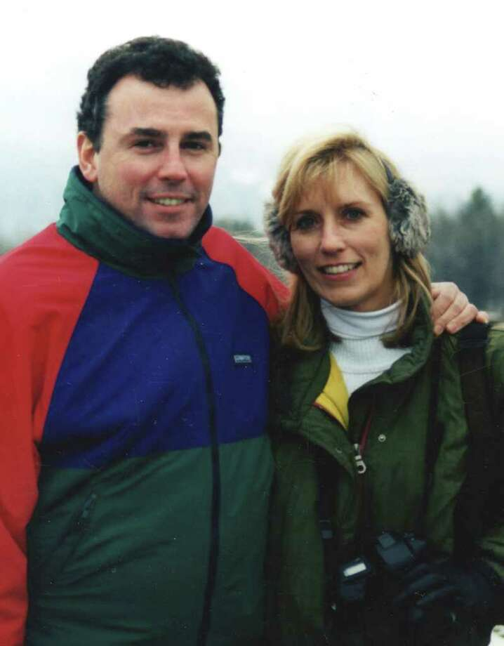 """Sean Rooney and Beverly Eckert lived in Stamford. Rooney died in the Sept. 11, 2001 terrorist attacks, and Eckert was killed in a plane crash three years ago. Eckert's story of their relationship is part of  the new book """"All There Is: Love Stories from StoryCorps."""" On Feb. 16, at 7:30 p.m., StoryCorps' founder Dave Isay will be at the Edgerton Center for the Performing Arts at Sacred Heart University, 5151 Park Ave., Fairfield, to talk about the book, and the StoryCorps project, as part of WSHU Public Radio's """"Join the Conversation"""" series. Photo: Contributed Photo"""