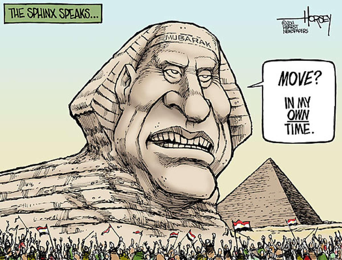 Telling the Sphinx to move on