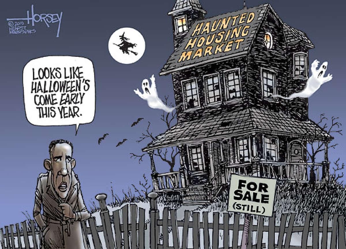 Home sales spooked