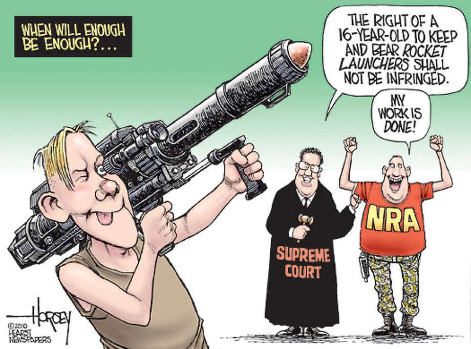 Second Amendment on steroids
