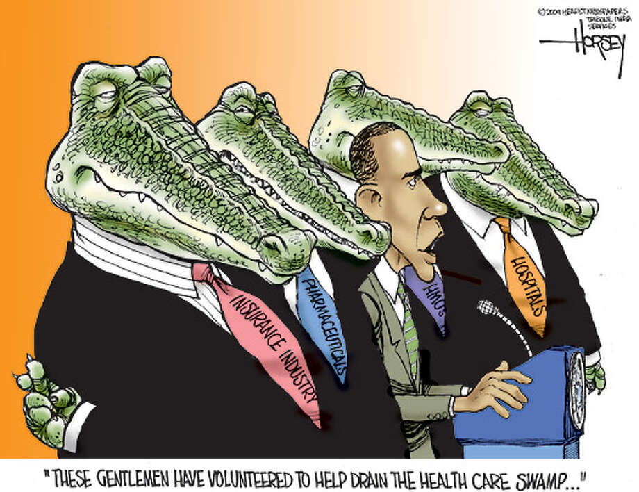 Volunteers to drain the health care swamp