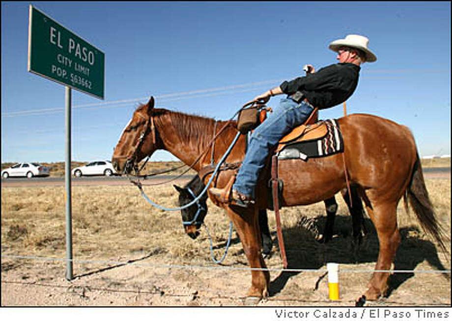 Border city El Paso is represented by the 915 area code. Photo: Victor Calzada