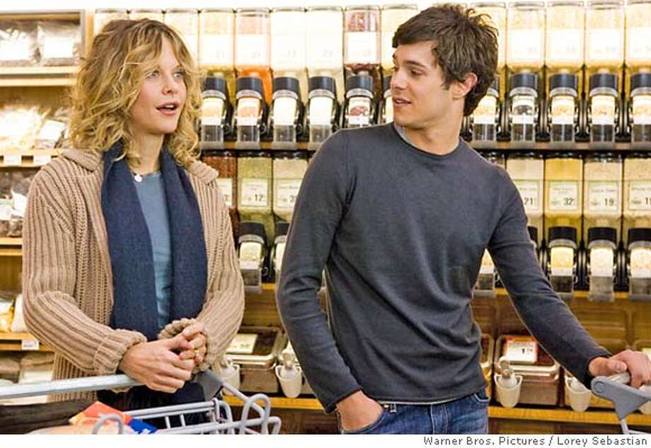 MEG RYAN as Sarah Hardwicke and ADAM BRODY as Carter Webb in director Jonathan Kasdan�s In the Land of Women, a Warner Bros. Pictures release. Photo credit: Lorey Sebastian  PHOTOGRAPHS TO BE USED SOLELY FOR ADVERTISING, PROMOTION, PUBLICITY OR REVIEWS OF THIS SPECIFIC MOTION PICTURE AND TO REMAIN THE PROPERTY OF THE STUDIO. NOT FOR SALE OR REDISTRIBUTION. Photo: Lorey Sebastian