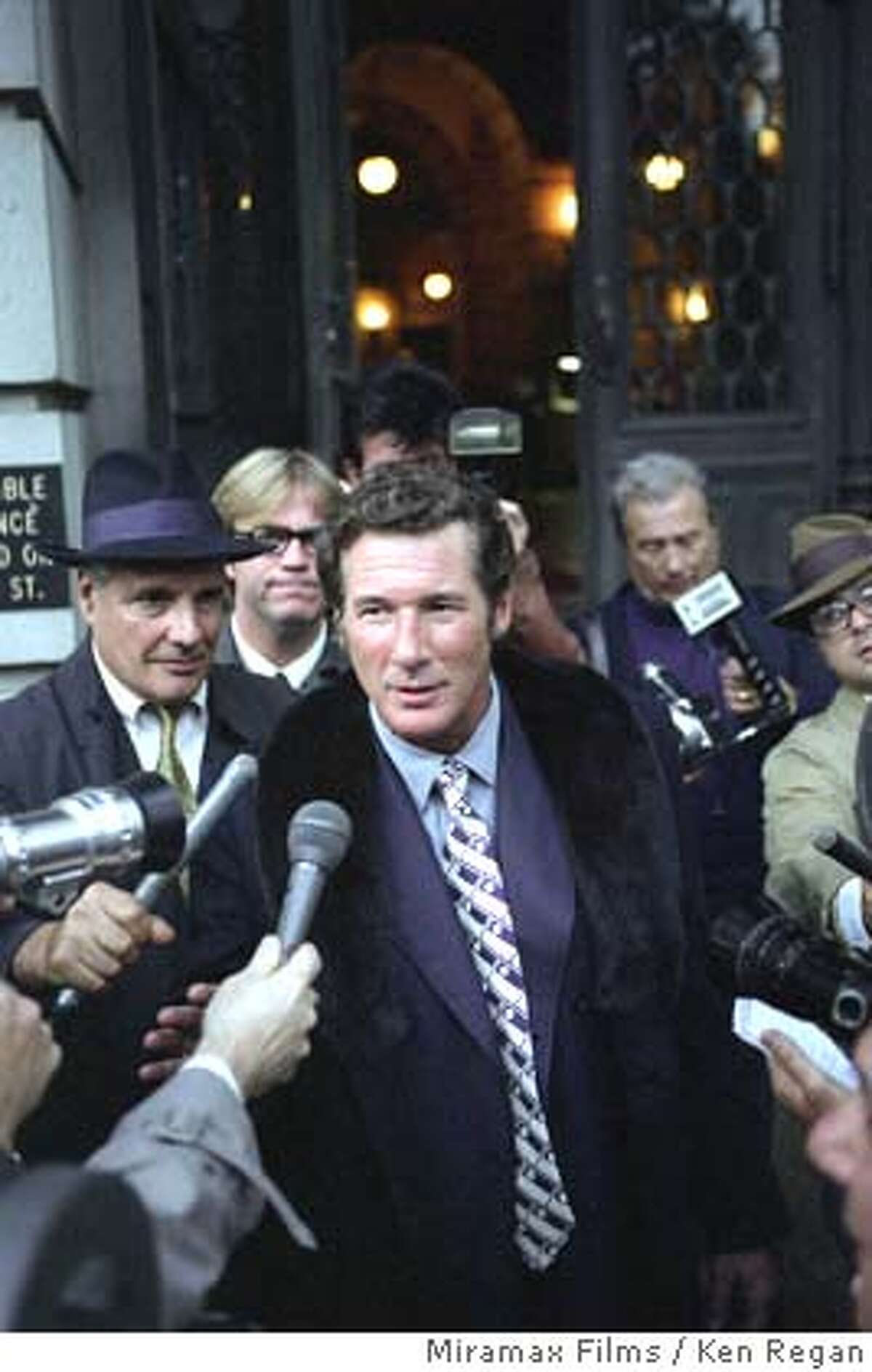 """� This photo provided by Miramax Films shows Richard Gere as Clifford Irving in """"The Hoax."""" (AP Photo/Miramax Films/Ken Regan) NO SALES. NO MAGS."""